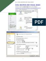 Tutorial - Excel Macros and Visual Basic (4feb2015)