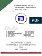 Paper Akuntansi Keuangan Lanjutan II