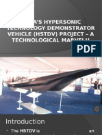 India's Hypersonic Technology Demonstrator Vehicle Project