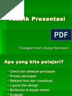 Teknik Presentasi Profesional