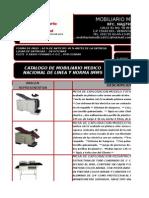 Catalogo Mobiliario Medico Nacional