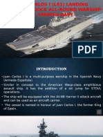 Juan Carlos I (L61) Landing Helicopter Dock All-Round Warship, Spain