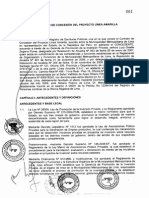Contrato de Concesión Vía Parque Rímac (Ex Línea Amarilla)