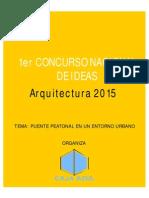 Concurso de Ideas Para Puente