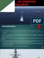 Indo - US Exercise Malabar