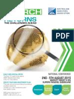 2015 Conference Brochure LR