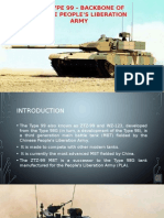 MBT Type 99 - Backbone Of Chinese People's Liberation Army