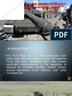 Tk-X (Type 10) 4th generation main battle tank – Securing japan
