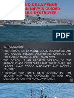 Durand De La Penne - Italian Navy's Guided Missile Destroyer