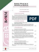Convocatoria Secundaria Murcia 2015