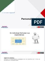 MATRIZ PEDAGOGICA Personal Social