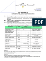 En 15376 European Fuel Alcohol Specifications (Itec)