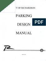 Parking Design Manual