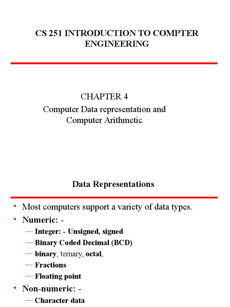Chapt4 Data Structures In Computersppt Subtraction Multiplication Bcd To Binary Coded Decimal Converter