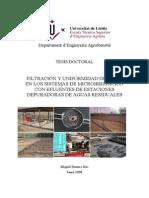 Filtracion y Uniformidad de Riego en Los Sistemas de Microirrigacion Con Efluentes de Estaciones Depuradoras de Aguas Residuales_Tesis_2008_DURAN-ROS
