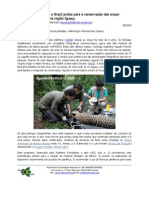 Argentina and Brazil for the sake of the jaguars in the Iguaçu region (Portuguese)