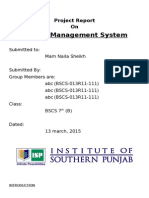 Library Mangement System Report