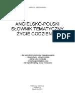 Angielsko-polski słownik tematyczny