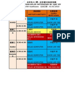 Senarai Waktu Kelas Interve6nsi & k Komputer