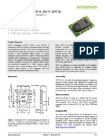 datasheet DT11 sensor