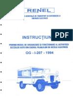 Prescriptie Energetica OG I 207 1994