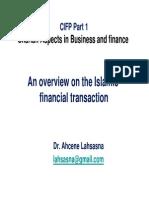 Classification in Islamic Finance