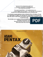 Pentax Spotmatic II User Guide