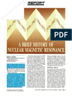 Brief History of NMR