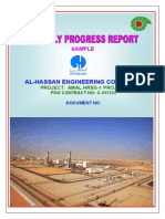 Amal HRSG-1 Project C311333 Monthly Report Format.doc