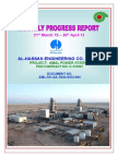 AML-B195-PRJ-032-000(Monthly Report 21 March 2012 to 20 April  2012.doc