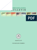 Rbi Bulletin Mar 2015