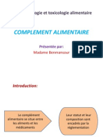 b.complement Alimentaire