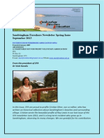 SFA E-newsletter Spring September 2013