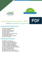 PMI PMP Project Management Professional Course Content - Practical-methods.com