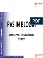 Seminarios PV in Bloom. Aspectos Legales y Tramitaciones
