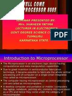 17321411 Microprocessor 8085 by Shaheen Fatima