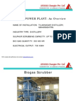 BIO GAS PLANT- An Overview- Anama Energies