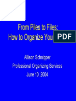 2003-4 NLS 10 - How to Organize Your Office
