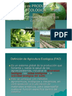 Curso de producción ecológica.