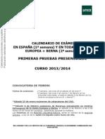 Exámenes Uned 2014 Psicología