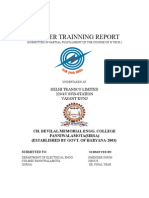 DTL Trainning Report.doc