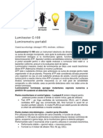 Luminometru Lumitester C- 100