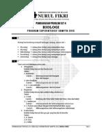 B Pembahasan Ps4 BIOLOGI Superintensif SBMPTN 2013
