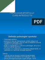 Psihologia Sportului Curs Introductiv