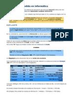 Unidades de Medida en Informática PDF