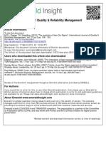 The evolution of lean Six Sigma.pdf