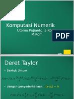 Numerik1314 Deret Taylor dan Galat.pptx