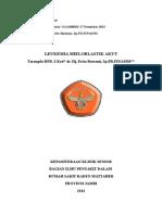 Referat Leukemia Myeloid Akut