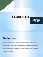 EXODONTIA