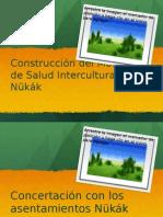 Presentación pueblo Nükák SSG y Pastoral Social